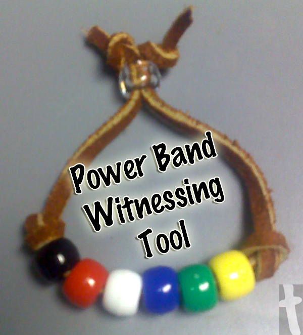 Power band witnessing tool bracelet for Who makes power craft tools