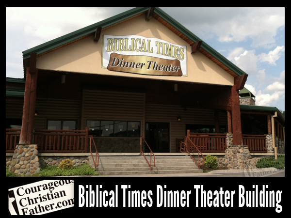 Bliblical Times Dinner Theater - Builiding