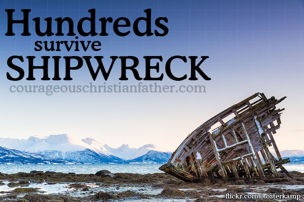 Shipwreck image from Osterkamp on Flickr