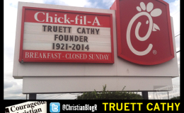 Truett Cathy of Chick-fil-A 1921-2014