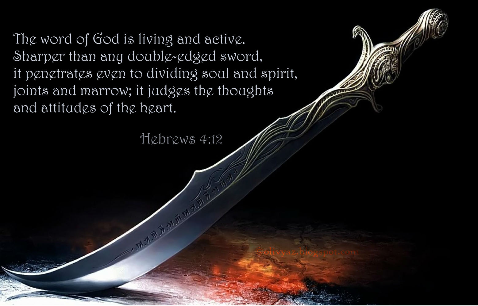 Sharper Than Any Two Edged Sword Courageous Christian Father