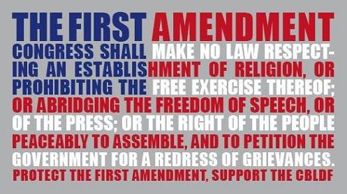 First Amendment Religious Freedom