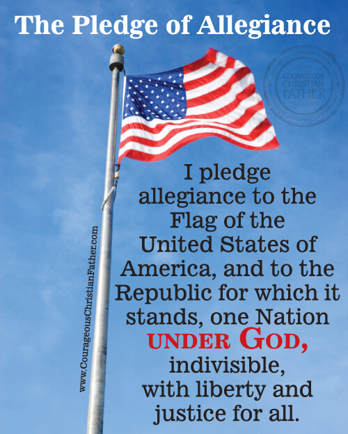 ... Of Allegiance Printable on Pinterest I Pledge Allegiance To The Bible