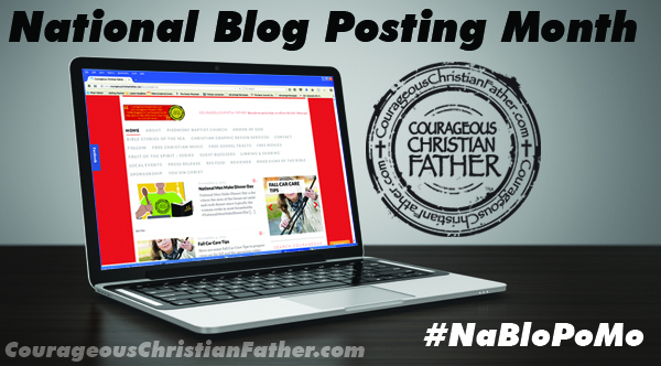 National Blog Posting Month (NaBloPoMo) #NaBloPoMo