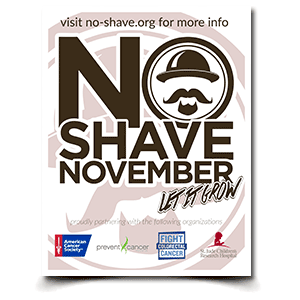 No Shave November Courageous Christian Father