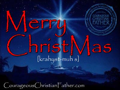Merry Christ Mas (Merry Christmas)