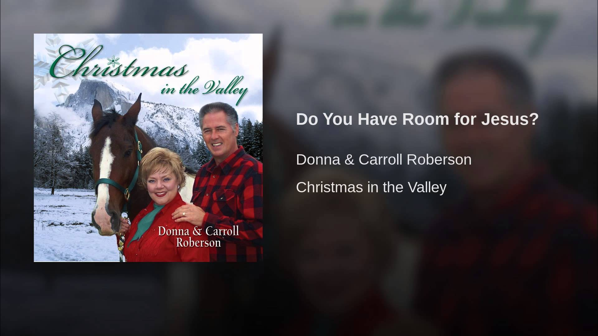 Do You Have Room for Jesus
