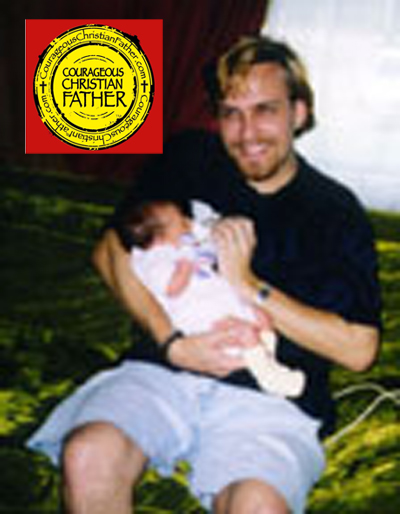 Dad Amber (8 Days Old) 1998
