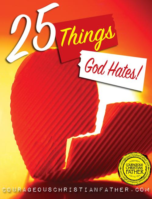 25 Things God Hates