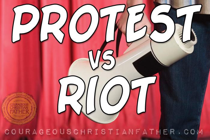 Protest vs Riot