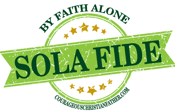 Sola Fide by Faith Alone