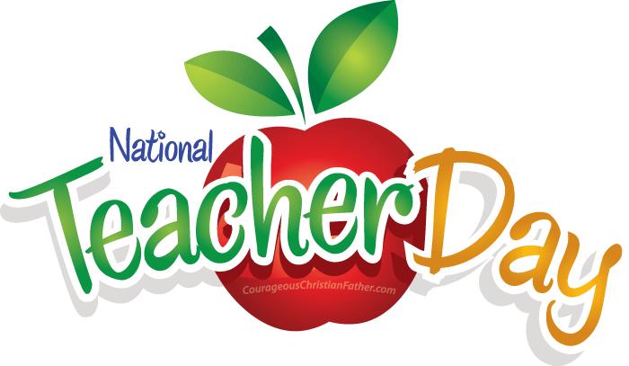 National Teacher Day on Home Me Free Printables