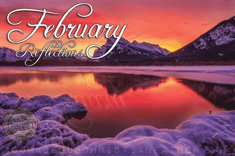February 2018 Reflections
