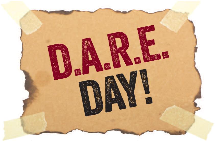 National D.A.R.E. Day #DARE
