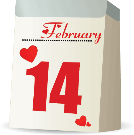 Why is Valentine's Day celebrated on February 14th? According to the Library of Congress, it's hard to pinpoint exactly why Valentine's Day is celebrated on February 14, though the date might have ties to the ancient Roman celebration of Lupercalia.