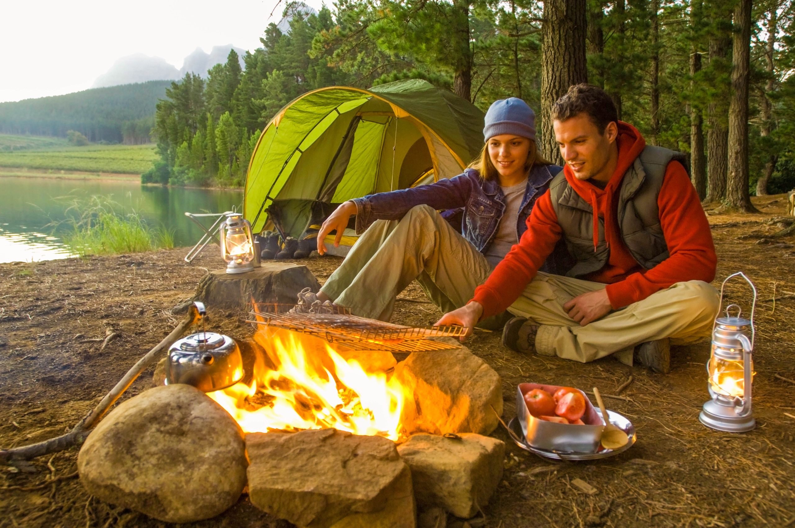 Get fired up about campfire cooking - Camping season revs up when the temperature warms. In a recent survey by Kampgrounds of America, Inc., the main reasons people say they go camping are to reconnect with nature, spend time with family and friends and reduce stress and relax.