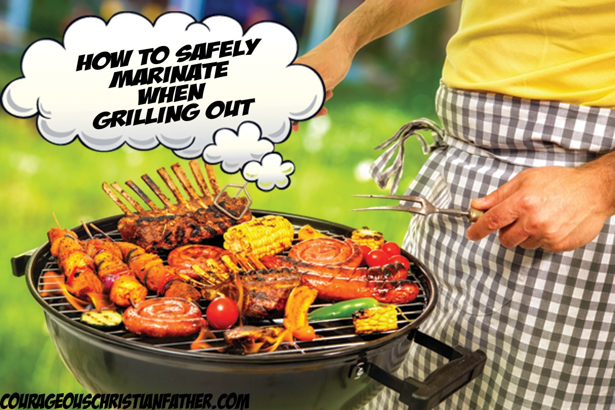 How to safely marinate when grilling out - One of the joys of grilling is the chance to develop your own technique. Some people guard their grilling techniques as if they were safeguarding state secrets, while others are proud to tell friends and family how they made those burgers so tasty.