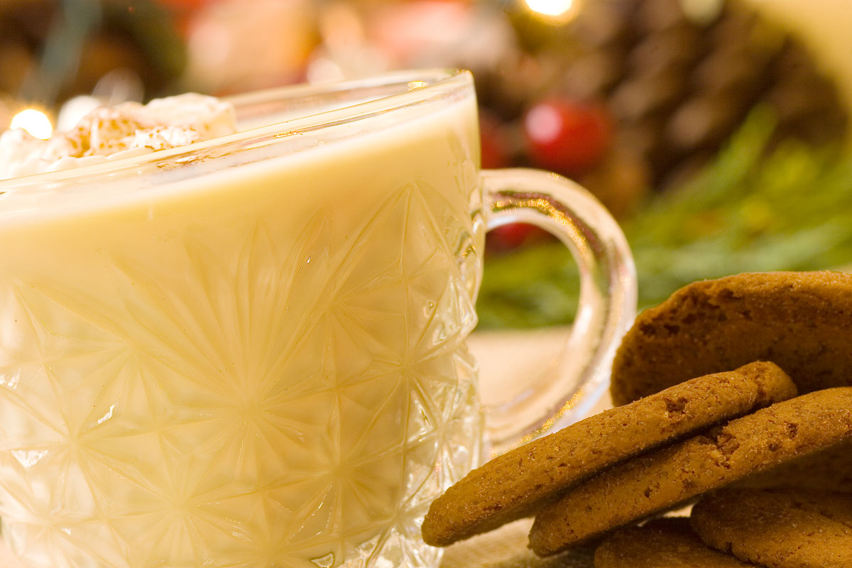 Eggnog is one of my other favorite drinks. This one comes around Christmas time each year. I wished it was out all year long. #EggNog