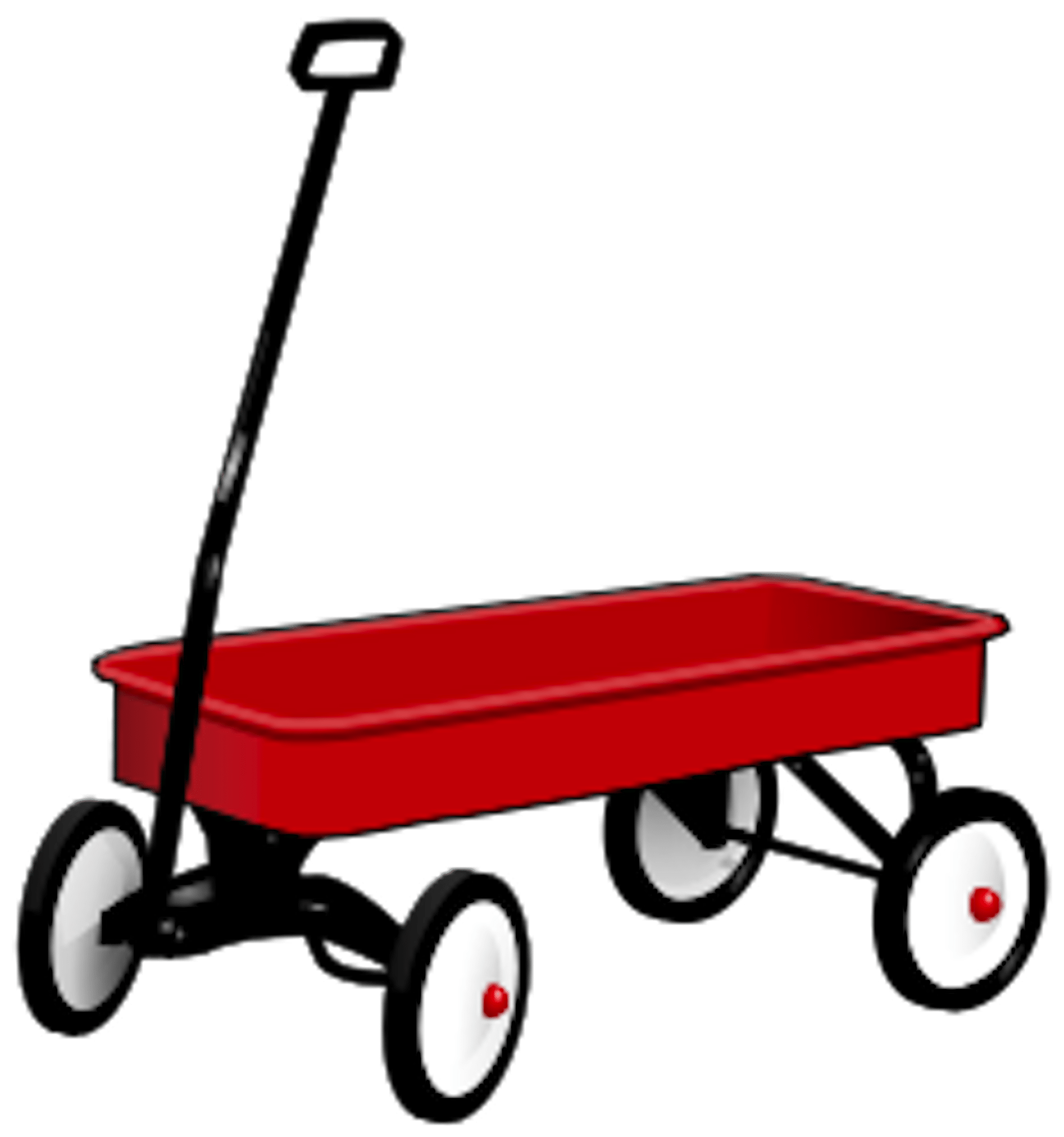 Little Red Wagon Day - A day that celebrates that red wagon toy that we could use to haul things in. #LittleRedWagonDay