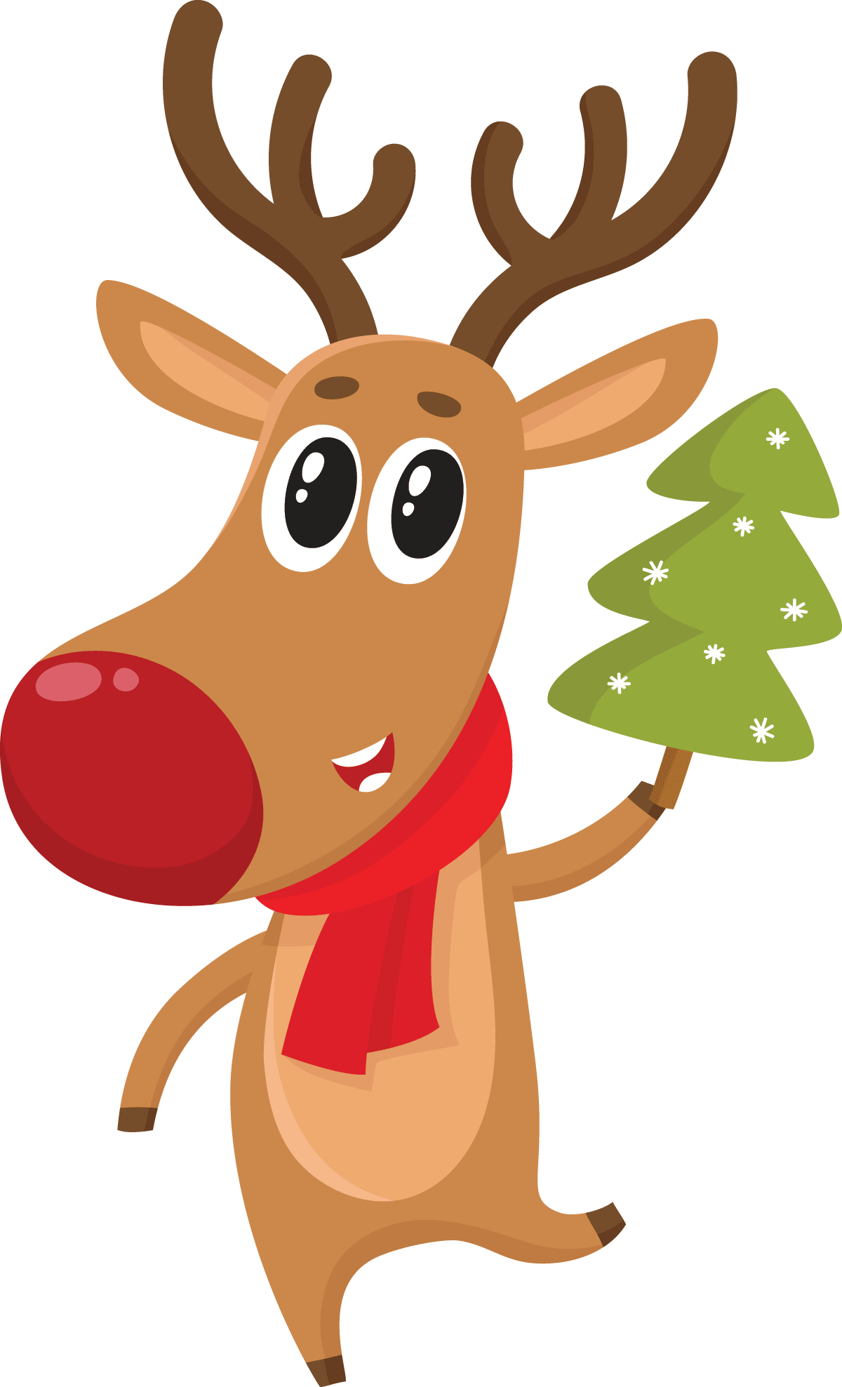 The Christmas Tree that came to Life - As told by a reindeer who decorated a Christmas Tree and it came to life.