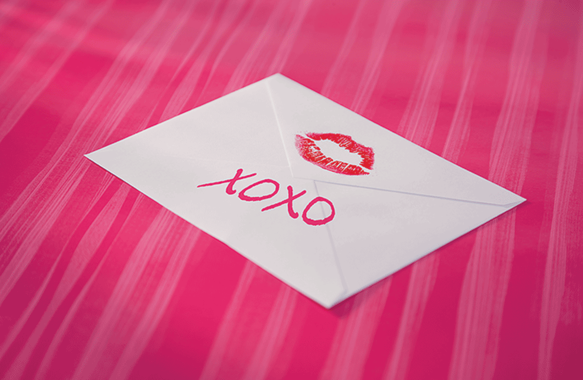 """How did """"XO"""" come to symbolize kisses and hugs? """"XO"""" is widely recognized as symbolic of wishing """"hugs and kisses"""" to a letter's intended recipient. This tradition is such an ingrained part of romantic letter writing that few may stop to pause and wonder just how the letters """"XO"""" came to symbolize hugs and kisses. #XO"""