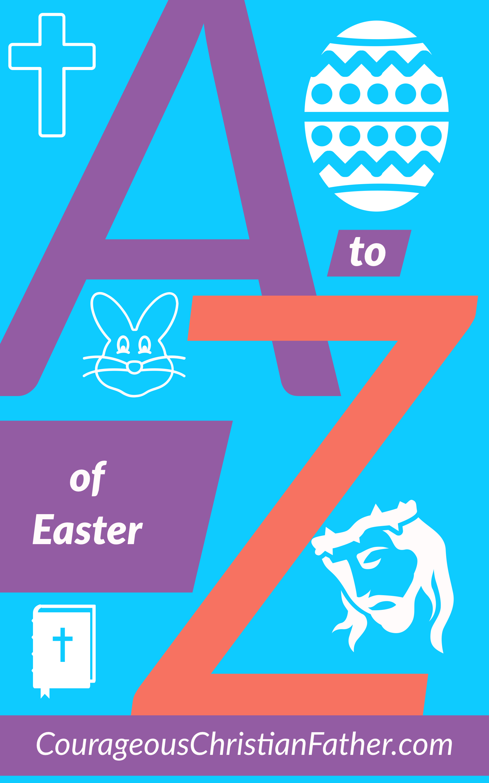 The A-Z of Easter - I take each letter of the alphabet and give a word that is related to Easter. I start with A and end with Z. #Easter