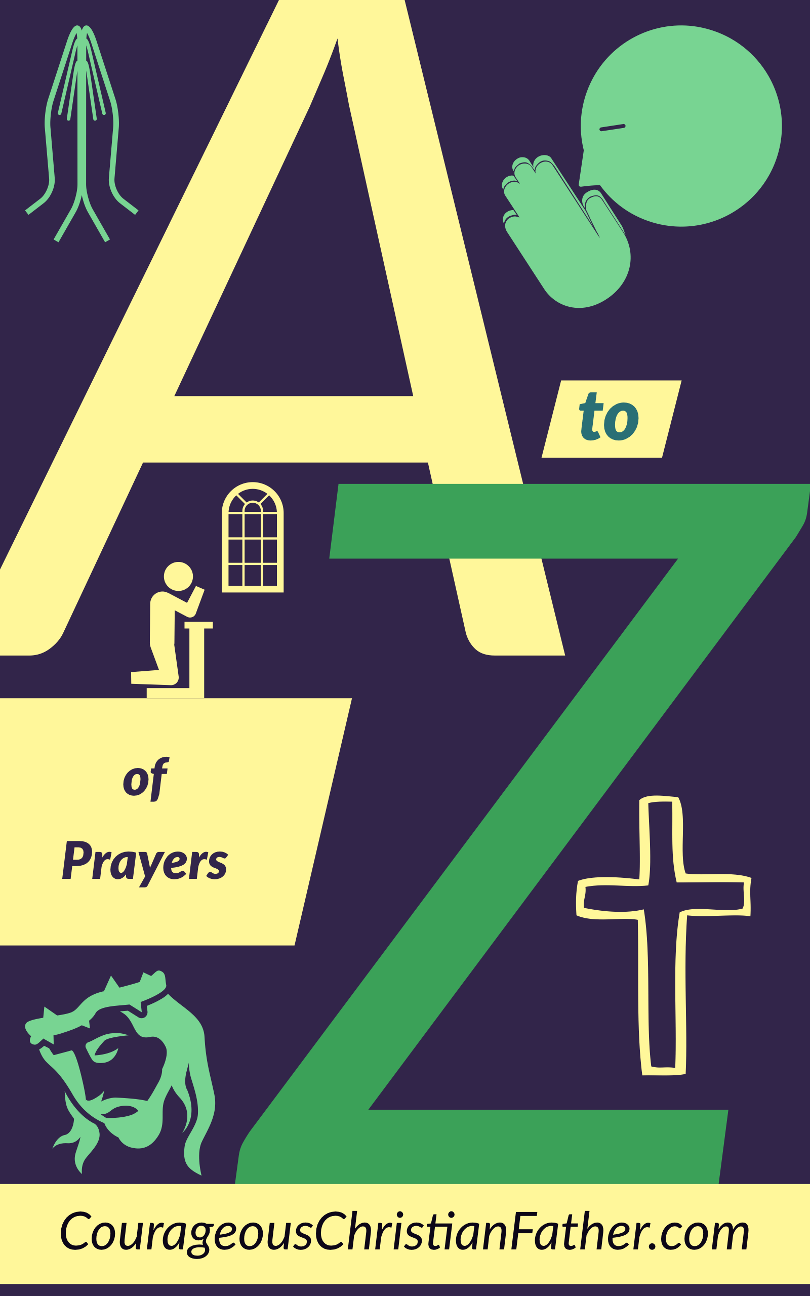 The A-Z of Prayers - This is an alphabetical list of anything to do with prayers and praying starting with the letter A and ending in Z. #Prayers #Praying