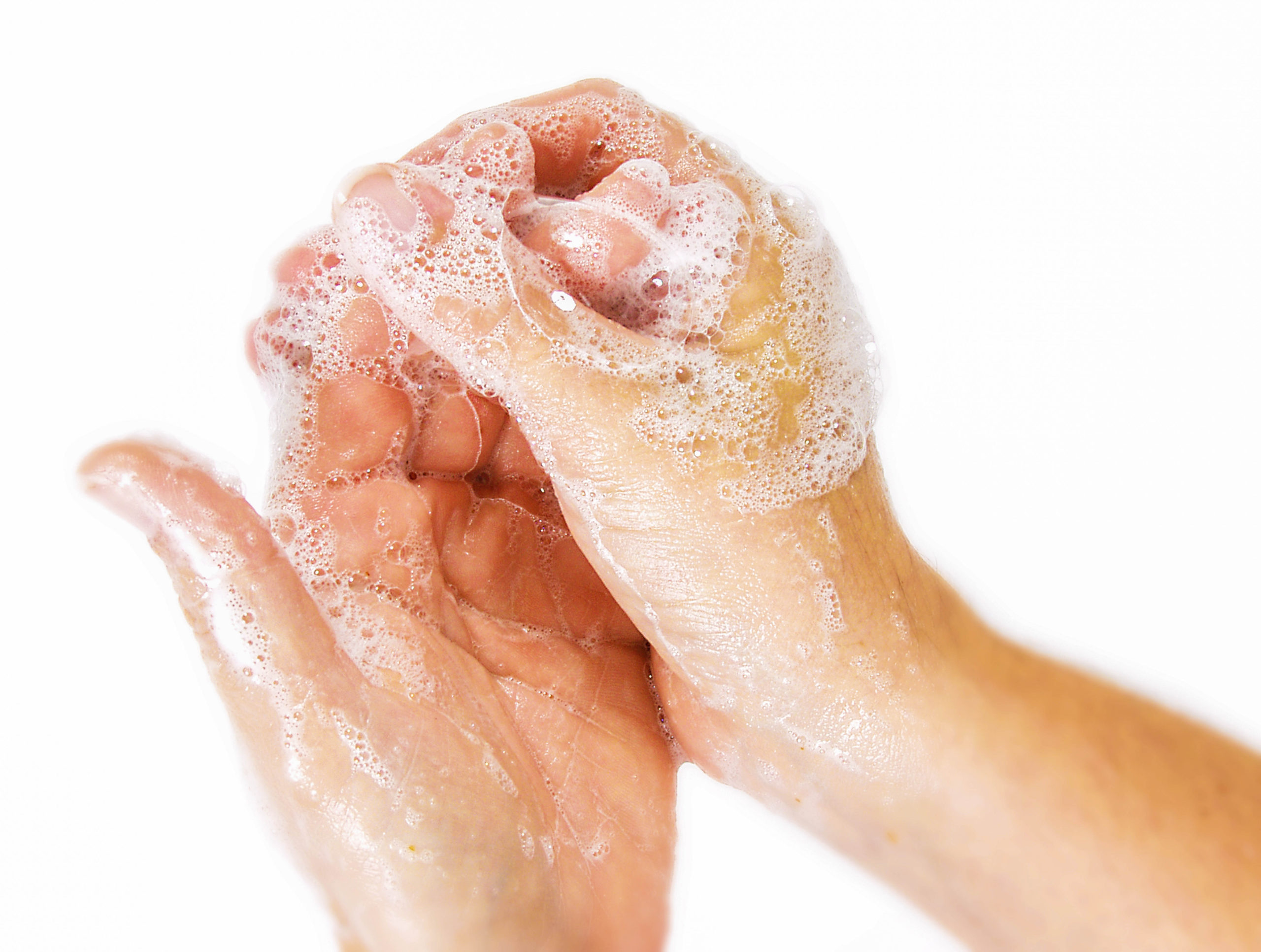 When to use soap and water, and when to use hand sanitizer - The CDC notes that preventing the spread of sickness through handwashing is most effective when people know which method to use when cleaning their hands. #HandWashing