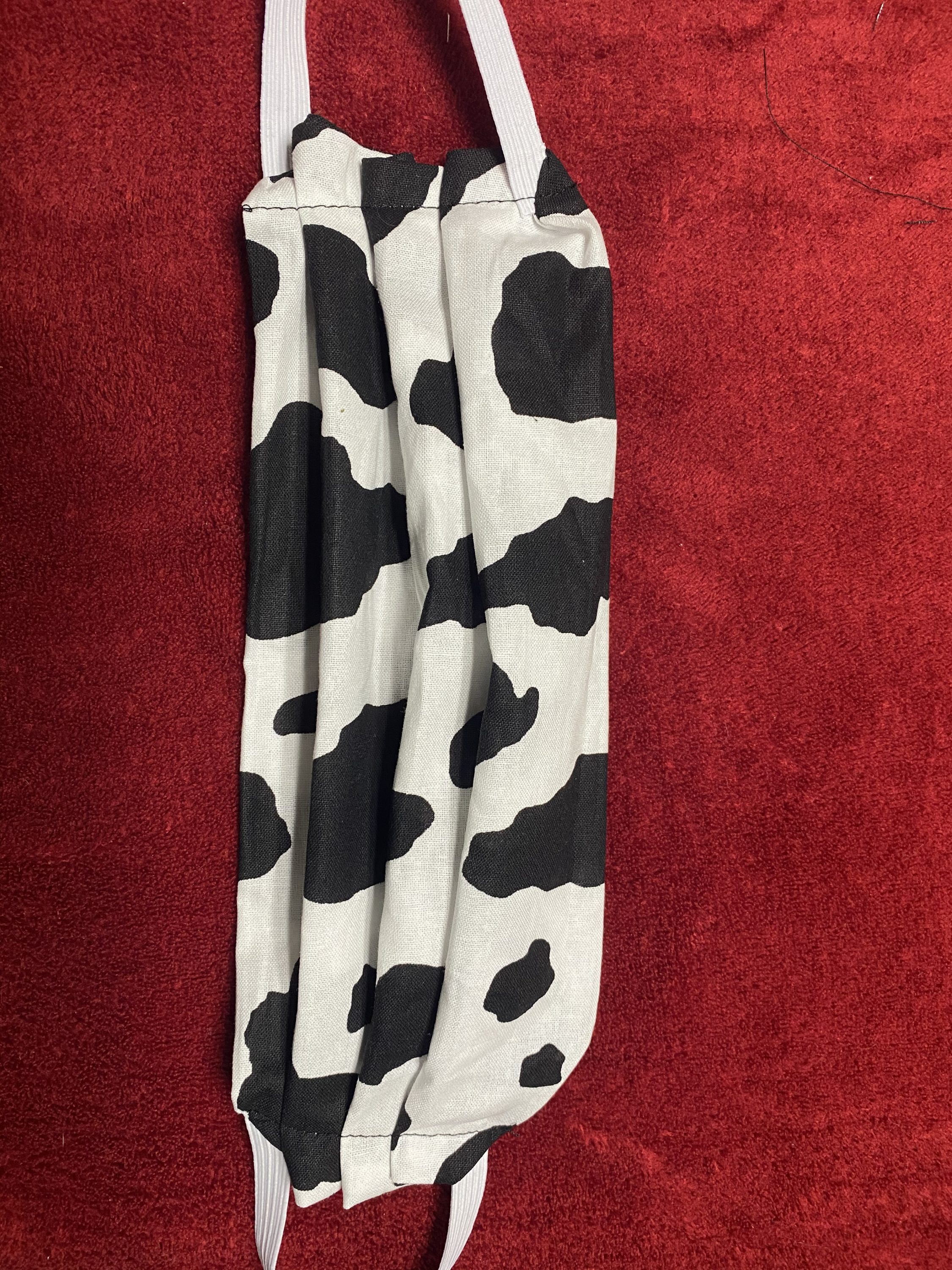 Cow Pattern Face Mask