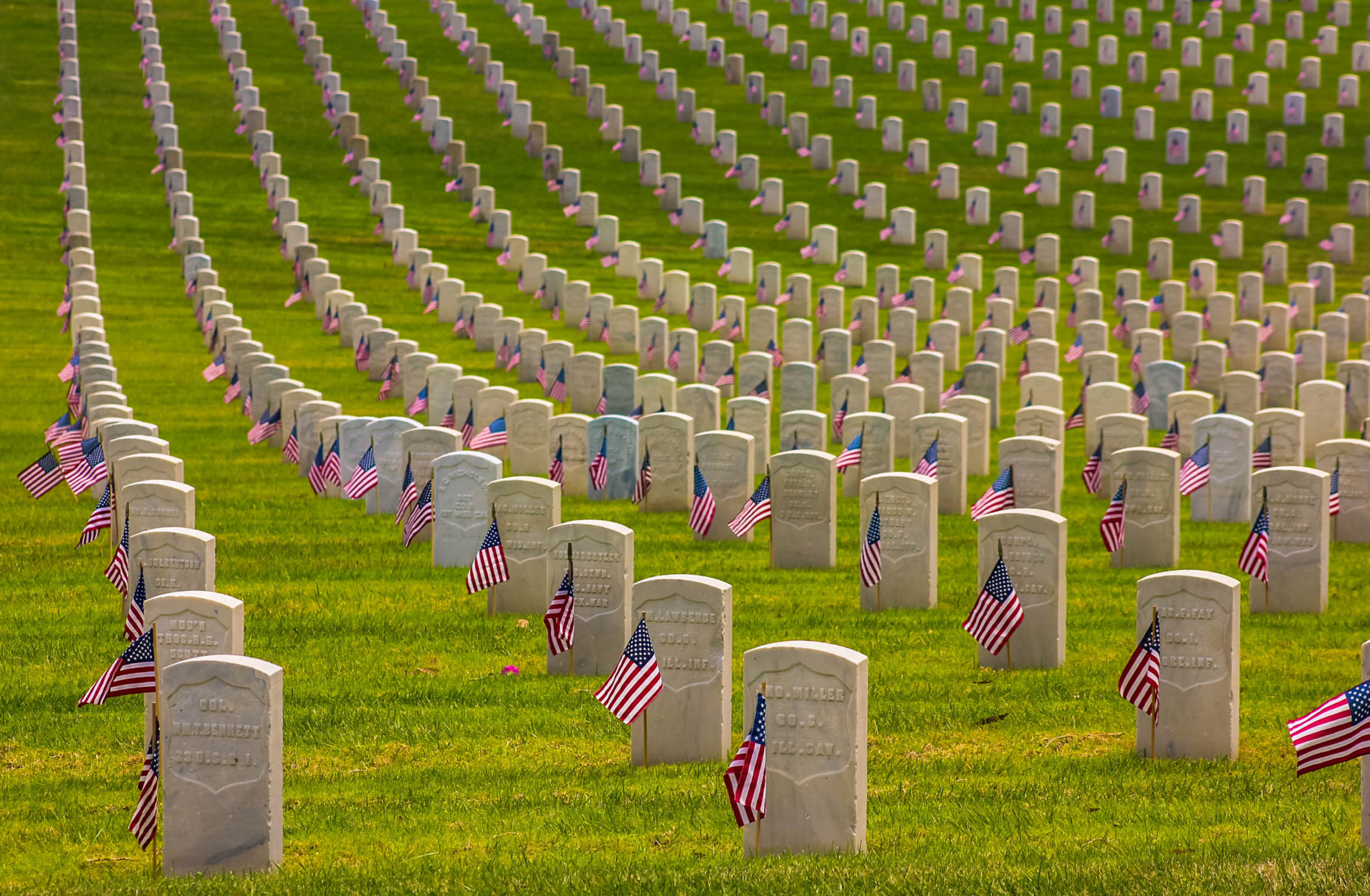 Boy Scouts banned from planting American flags on veterans' graves for Memorial Day due to coronavirus. #MemorialDay #BoyScouts