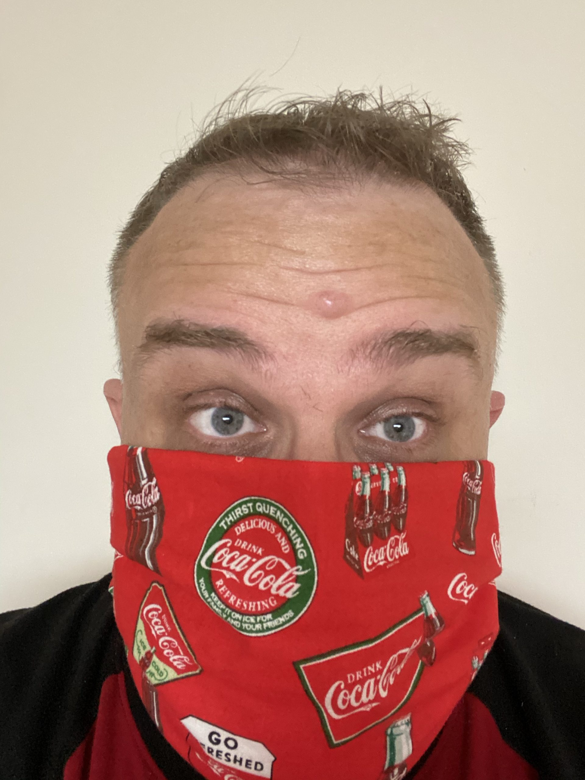 Coca-Cola Face Mask (Coke Face Mask) #CocaCola #Coke #FaceMask