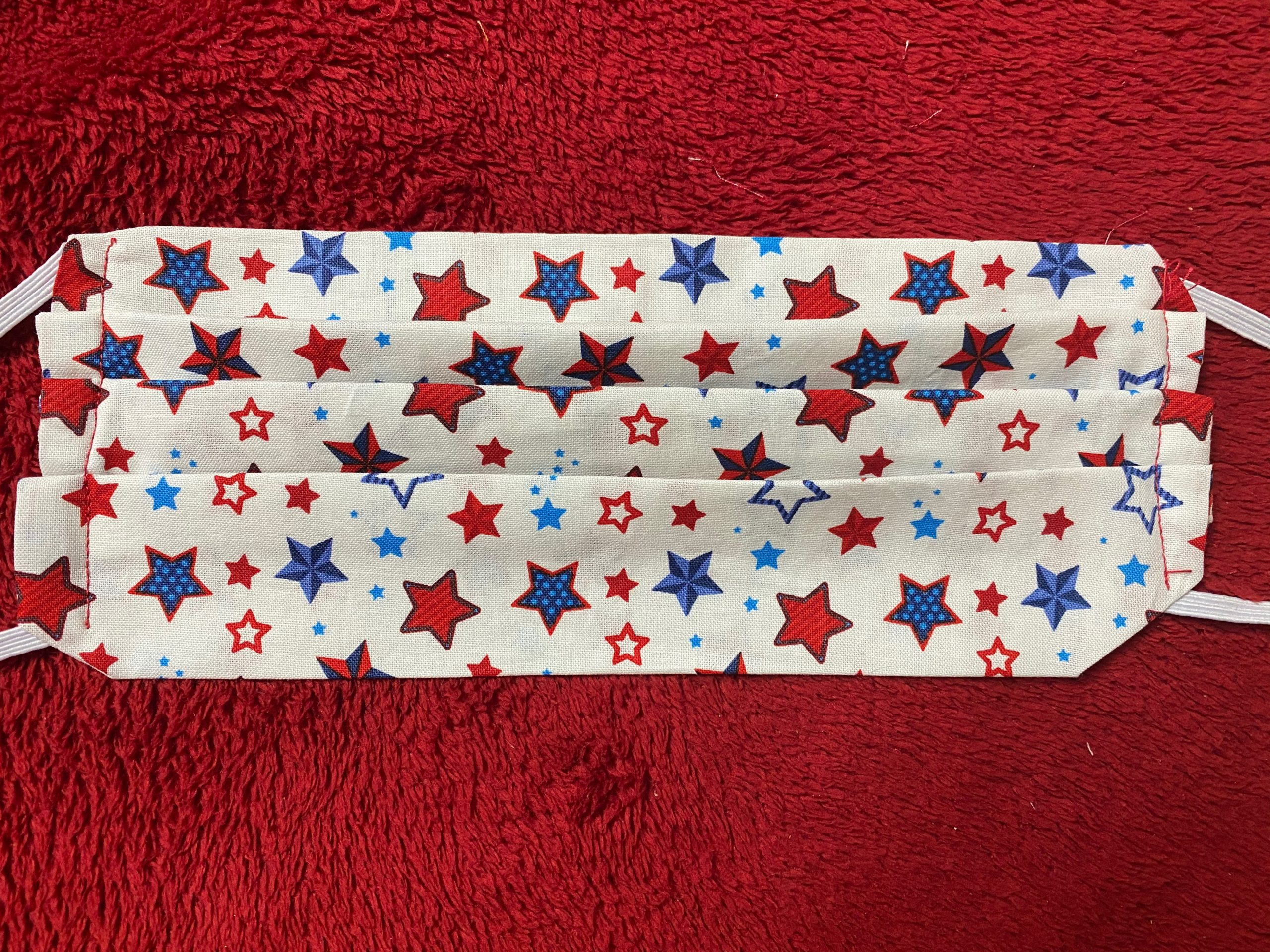 Patriotic Star Face Mask #FaceMask